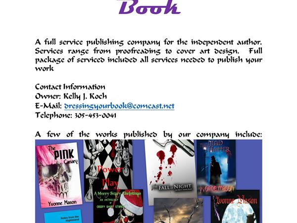 Publisher Dressing Your Book and Wheelchairs for Kids 08/24 by