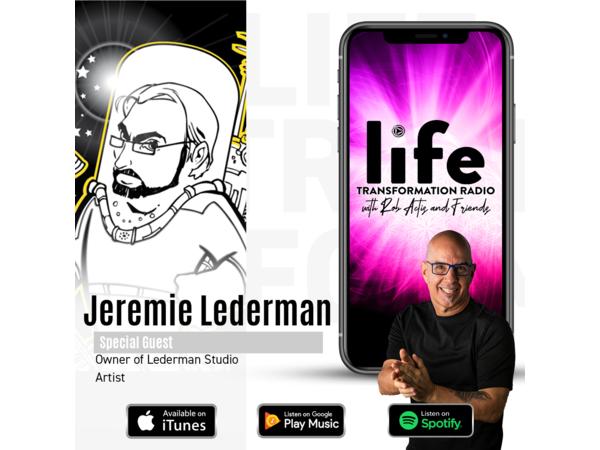 Illustrating Life With Jeremie Lederman