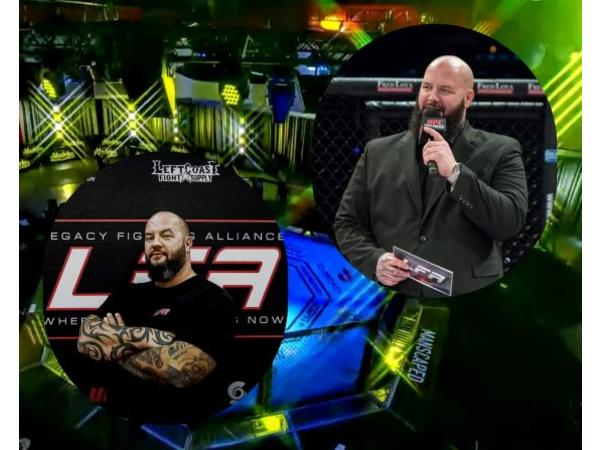 Mike Kendall - The Voice Of Legacy Fighting Alliance