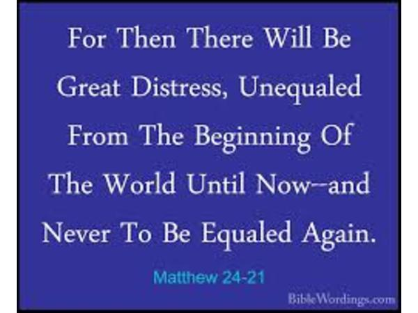 There Will Be Great Tribulation 08/18 by Christ Infinite