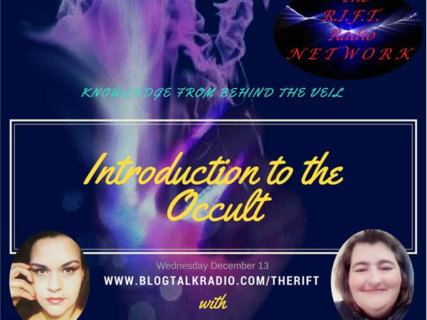 Knowledge From Behind The Veil/ Introduction to the Occult