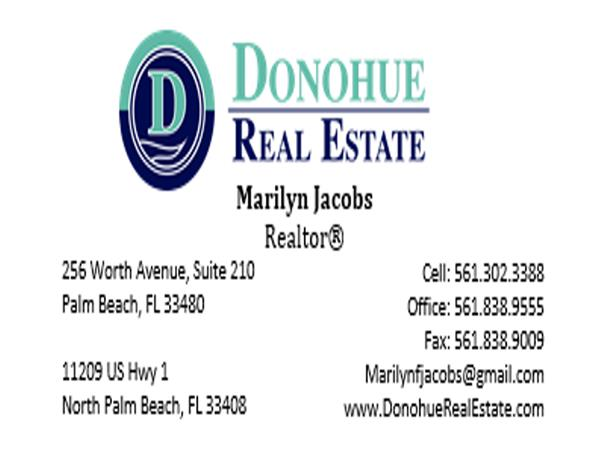 Interview With Palm Beach Luxury Home Specialist  Marilyn Jacobs