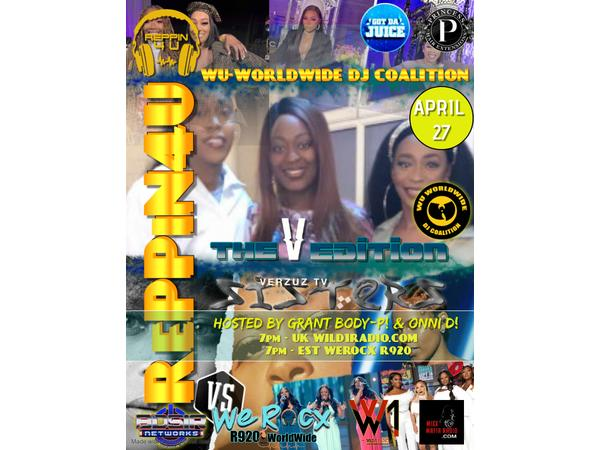 BDSIR NETWORK PRESENTS: RePPiN4...MY SISTERS: THE VERZUZ EDITION!