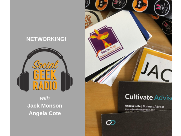 Maximize Networking at Conferences with Angela Coté and Jack
