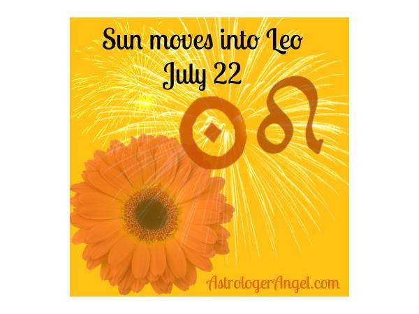 AstroEnergy Astrology Show July 17 2018: Leo Vibes Week 07