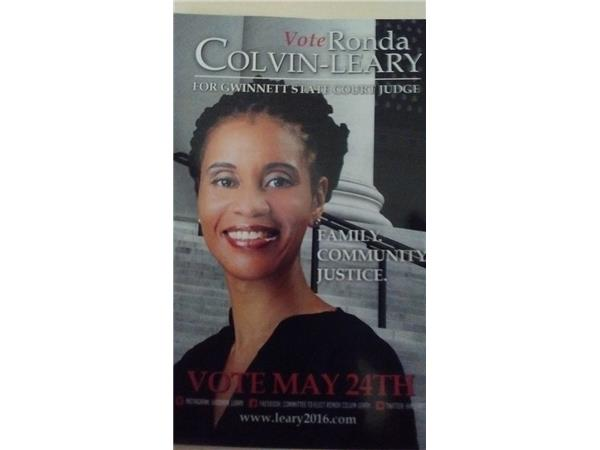 Meet Mrs  Ronda Colvin-Leary Running for Gwinnett State
