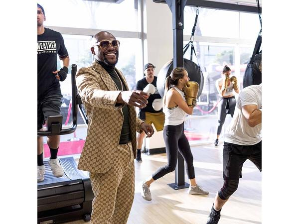 Mayweather Boxing + Fitness Franchise Opportunity Meets with FranchiseInterviews