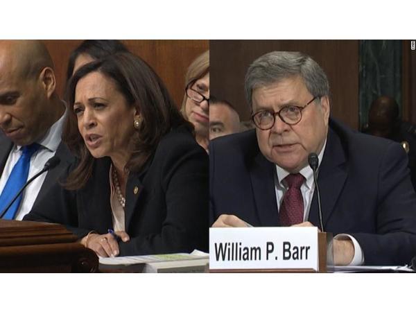 Mueller Report AG William Barr testifies, Kamala Harris; Farrakhan banned
