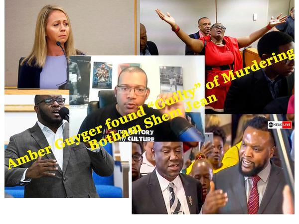 Amber Guyger Ex-Dallas Officer found guilty of murdering Botham Shem Jean