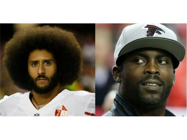 Colin Kaepernick gets respectability advice from Michael Vick - Michael Imhotep