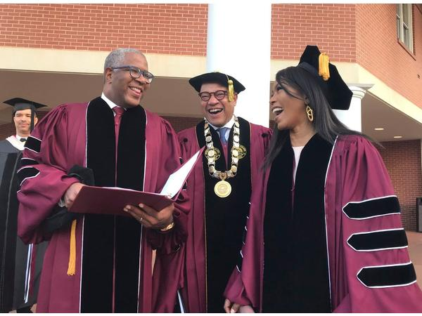 Black Billionaire Robert F. Smith pledges to pay off debt of Morehouse Grads