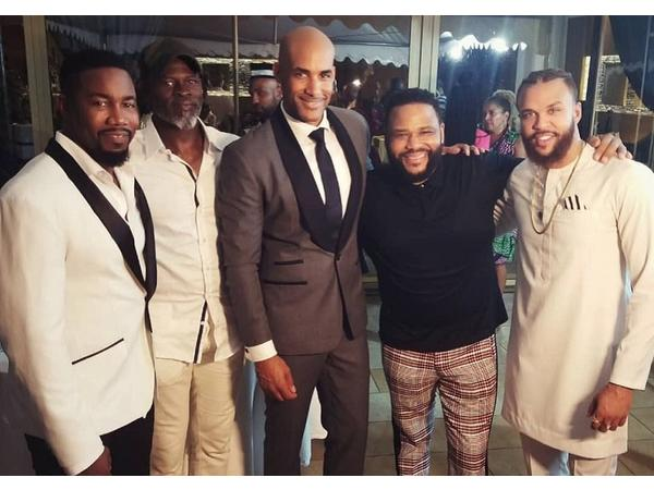 Boris Kodjoe and Black Celebs go to Ghana to reconnect to African History