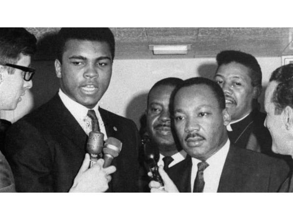 Dr. King, Muhammad Ali, Malcolm X - Dr. King Day 2020 - Michael Imhotep 1-20-20