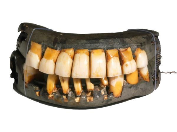 George Washington's teeth were from African Slaves not wood