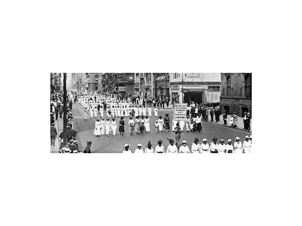 10,000 African Americans protest Lynchings & Racism in 1917 - NAACP Advisory