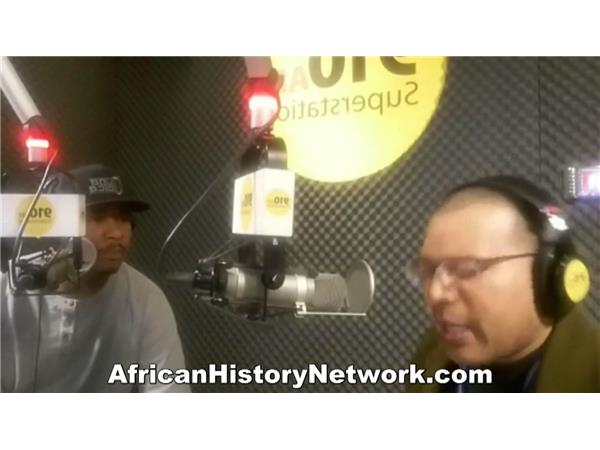 Michael Imhotep discusses Detroit 'Black Panther' Lecture with Spudd 910 AM