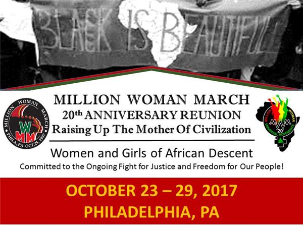 Million Woman March 20th Anniv. with Empress Chi; Kapernick files grievance