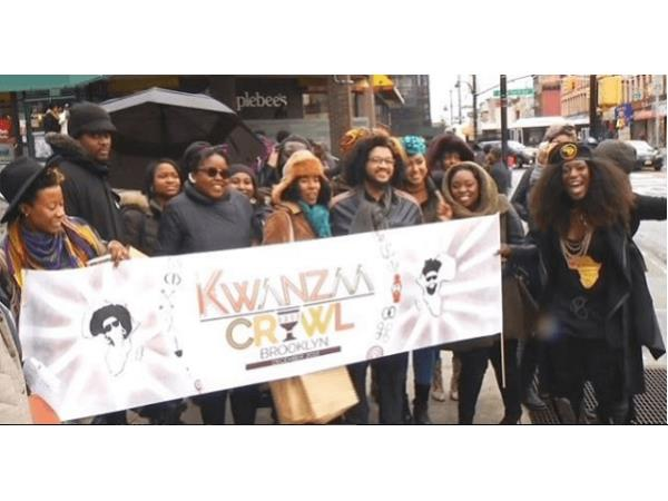Kwanzaa Crawl organized to support Black Businesses and fight against Oppression