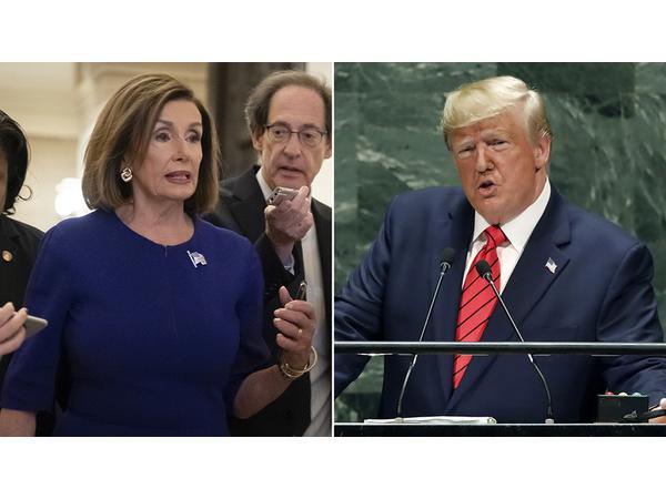 Trump Impeachment Inquiry announced by Nancy Pelosi; Watergate Scandal