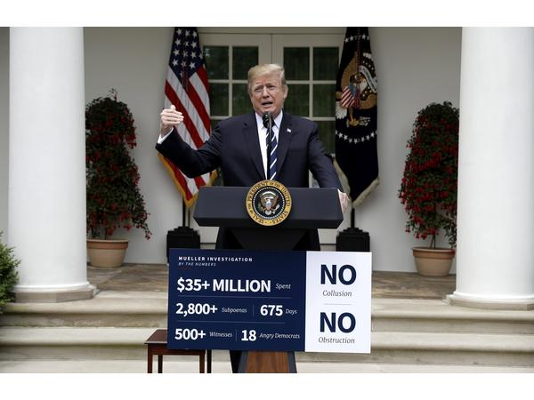 Trump storms out of meeting with Dems, denounces Investigations and lies 5-22-19