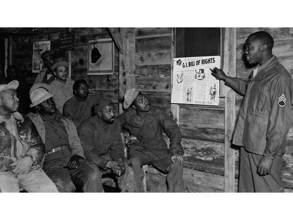 The G.I. Bill didn't benefit 1 million WWII Black Veterans #Reparations #HR40