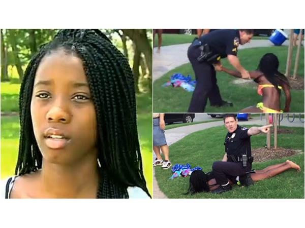 Black Teen sues White Cop for $5 million behind assault, #BLMKidnapping?