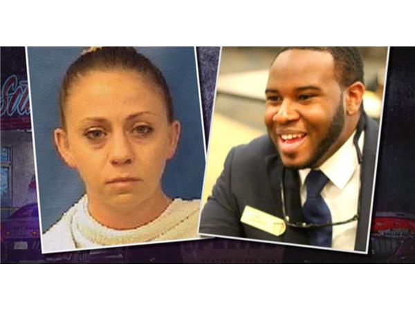 Amber Guyger says saw 'a large silhouette', thought Botham Jean was a burglar