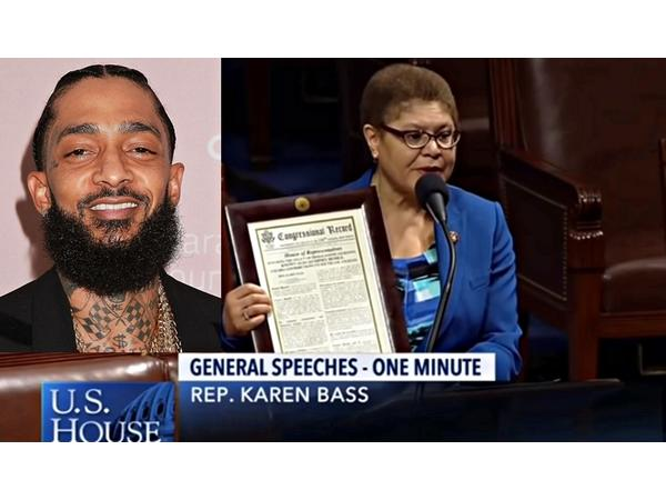 Nipsey Hussle honored in Congress; Georgetown votes on Reparations; HR 40 gains