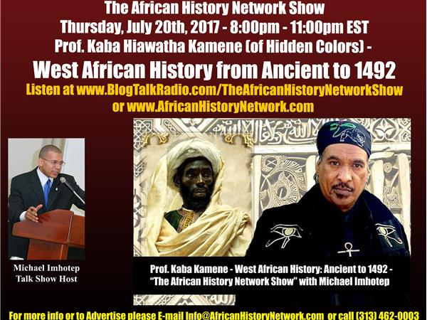 Prof. Kaba Kamene - West African History, Ancient to 1492 - Michael Imhotep