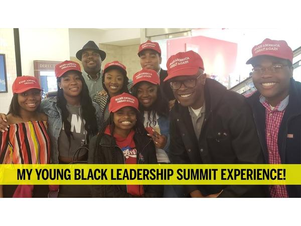 Candace Owens, Young Black Leadership Summit, Trump, Malcolm X Ballot or Bullet