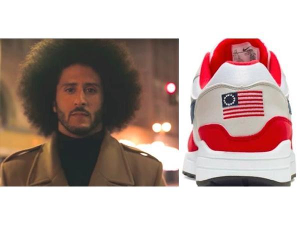 Kaepernick, Nike 'Flag' shoes; Queen Taese, Mechee X, Jice Johnson, Biden,Harris