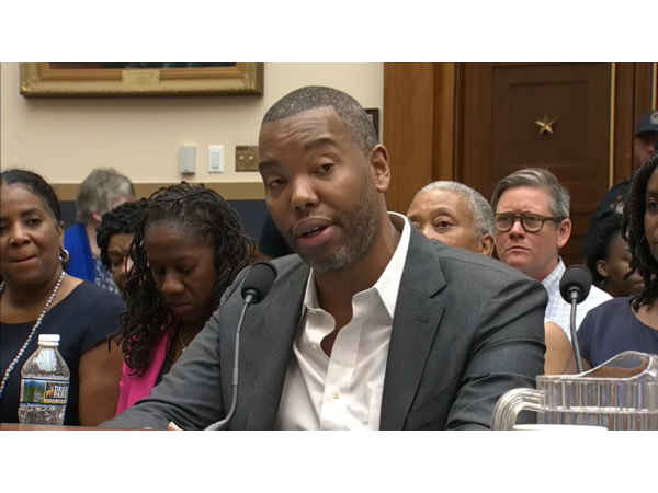 H.R. 40 Reparations Hearing about Slavery; Dr. Mark Thompson; Sen Mitch McConnel