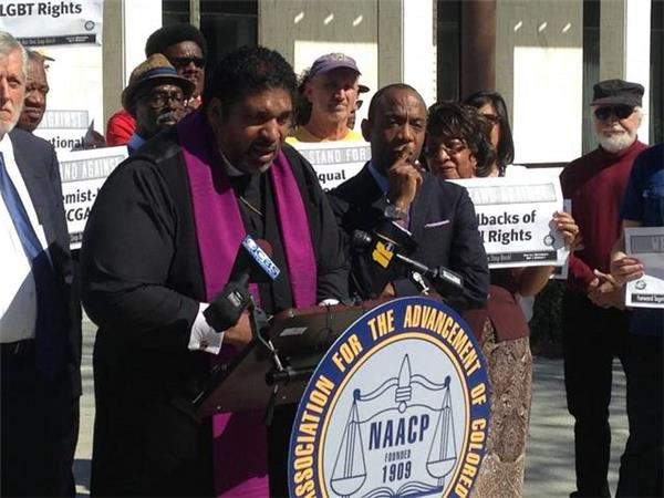 NAACP and Rev. William Barber III call for Economic Boycotts in North Carolina