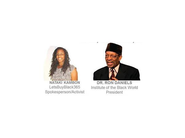 Dr. Ron Daniels & Nataki Kambon Interview - State Of The Black World Conference