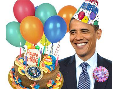 Pleasant Happy Birther Day Barack Obama 08 04 By Iws Radio Comedy Funny Birthday Cards Online Inifodamsfinfo