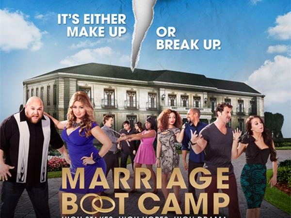 WE TV Stars from Marriage Boot Camp Shaun and Sofia 04/17 by Total