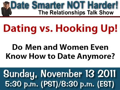 hooking up vs dating