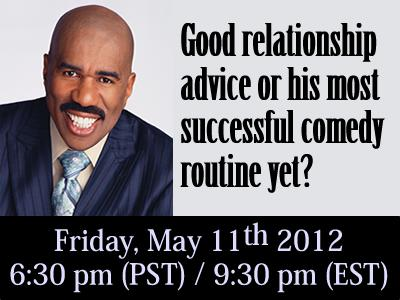 Steve harvey advice