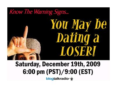 Warning signs youre dating a loser dr joseph carver