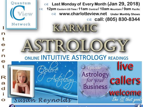 1/29/2018 ~ C View: Karmic Astrology  Business Astrology with Susan