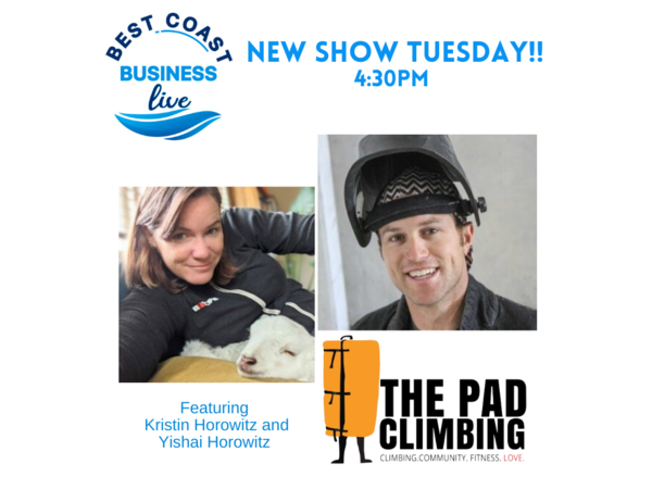 Best Coast Business Live with The Pad Climbing and All Out Events