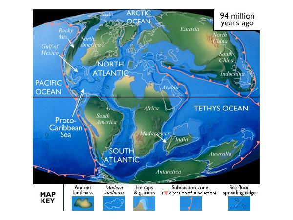 inland sea of north america
