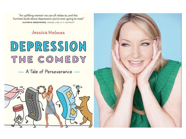 Professional Comedian Jessica Holmes Talks About Her Struggle With