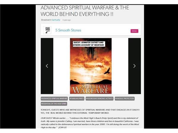 ADVANCED SPIRITUAL WARFARE & THE WORLD BEHIND EVERYTHING