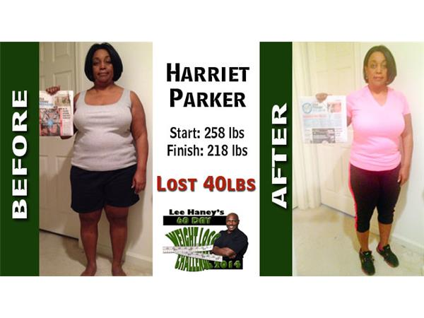Harriet Parker Lost 40lbs On Lee Haney S 60 Day Weight Loss
