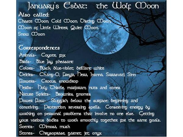 Full Moon Esbat Ritual for January 2016 01/23 by Wicce Women