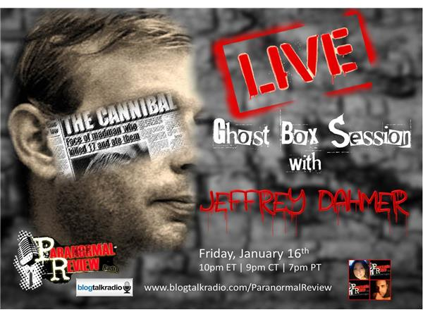 LIVE ITC Ghost Box Session with Jeffrey Dahmer 01/16 by