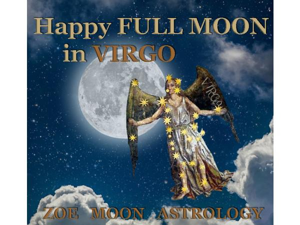 The Zoe Moon Astrology FULL MOON Show Feb 14-21 02/15 by Zoe Moon