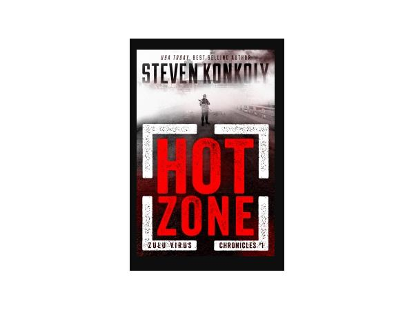 Author Steven Konkoly and THE HOT ZONE are on the Menu at