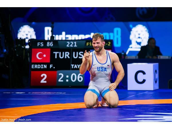 2018 World Champion Freestyle Wrestler David Taylor